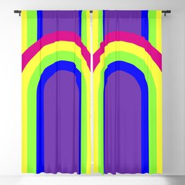 Rainbow Blackout Curtain