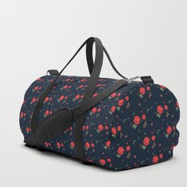Classic western rose pattern Duffle Bag