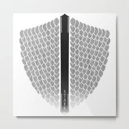 Wolves' shield Metal Print