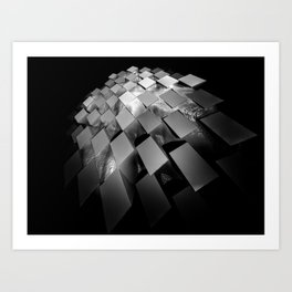 Squares 1 Art Print