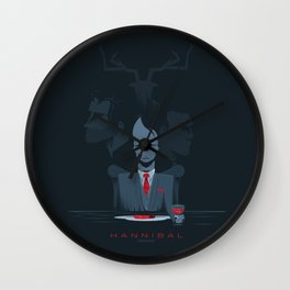 Hannibal series Wall Clock