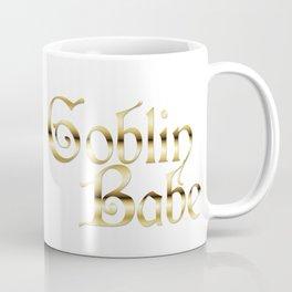 Labyrinth Goblin Babe (white bg) Coffee Mug