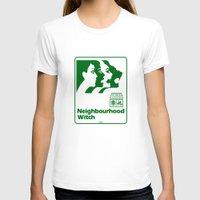 the neighbourhood T-shirts featuring Neighbourhood Witch by Crank Institute