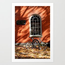 Derby Square Bookstore Art Print