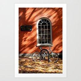Derby Square Bookstore Art Print