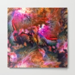 Deep Space Storm No3 Metal Print