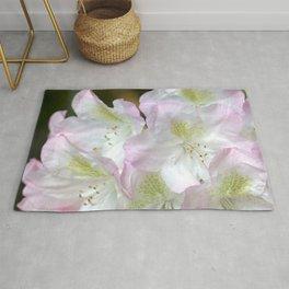 Gentle blush rhododendron Rug