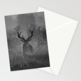 Deer In The Mist Stationery Cards