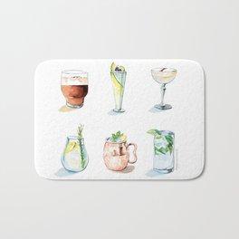 Cocktail season! Bath Mat