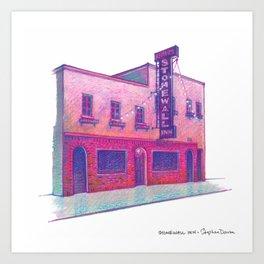 NYC Pride: Stonewall Inn Art Print