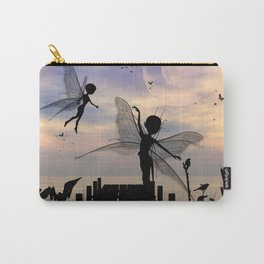 Cute fairy dancing on a jetty Carry-All Pouch