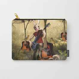Rabbit Heart Carry-All Pouch