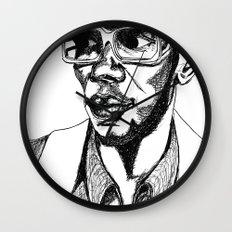 Mighty Mos Def Wall Clock