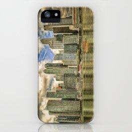 Singapore Marina Bay Sands Art iPhone Case