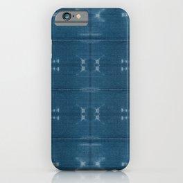 Adire mud cloth iPhone Case