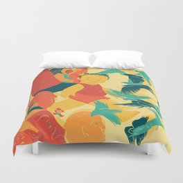 And A Little Girl Who Only Wished To Fly Duvet Cover