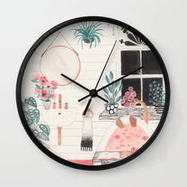 Bathtime Wall Clock