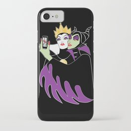 Grimhilde & Maleficent Selfie iPhone Case