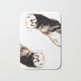 Steppen ferret (Mustela eversmanii) Bath Mat