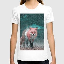 WaterFox - Julien Tabet - Photoshop Artwork T-shirt