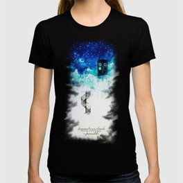 Beyond the clouds | Doctor Who T-shirt