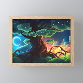 Tree of the Stars Framed Mini Art Print