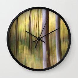 Morning Blur Wall Clock