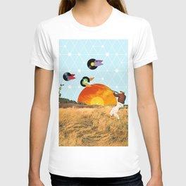 Vinyl Hunter T-shirt