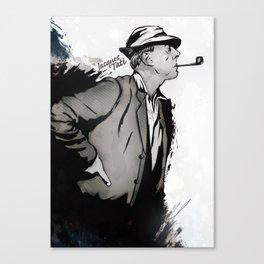 Jacques Tatí Canvas Print