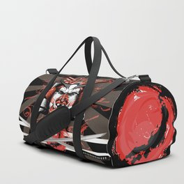 Samurai Flag Duffle Bag