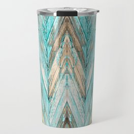 Wood Texture 1 Travel Mug
