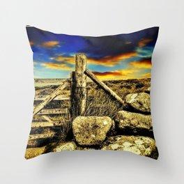 Postbridge,Devon, England Throw Pillow