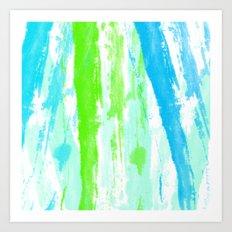 Fresh Paint Art Print