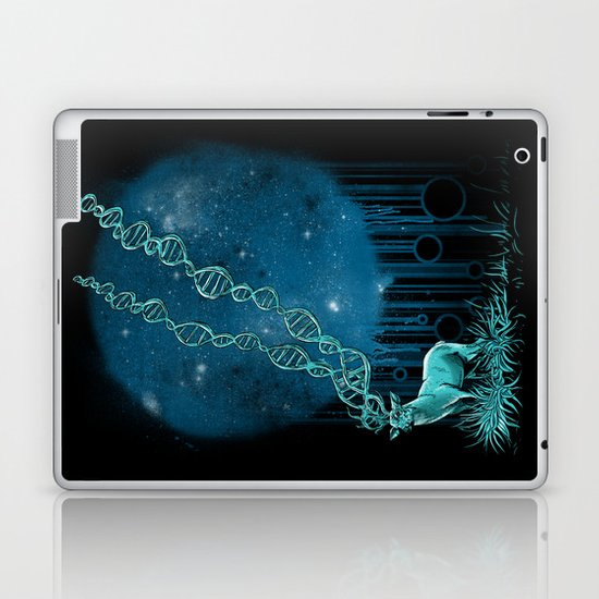 DNA Deer Laptop & iPad Skin