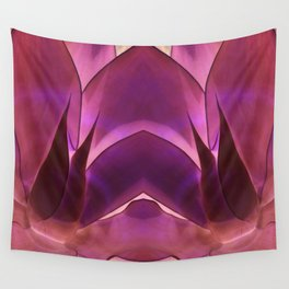 Purple Agave Wall Tapestry
