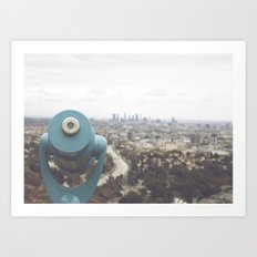 The View: Mulholland Art Print