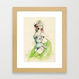 Burlesque 01 Framed Art Print