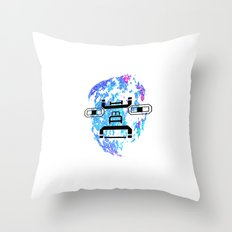 Letterman Throw Pillow