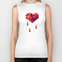 vector Biker Tanks featuring Heart vector by Tony Vazquez