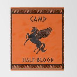 Camp Half-Blood Throw Blanket