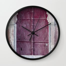 Doors Of Rajasthan 2 Wall Clock