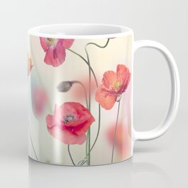 Red Poppy Flowers in the garden Coffee Mug