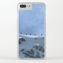Ben Nevis Climb Clear iPhone Case