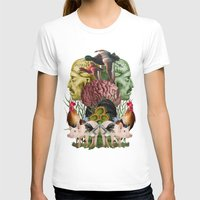 farm T-shirts featuring ANATOMY: FARM by MANDIATO ART & T-SHIRTS