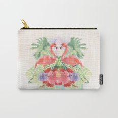 Exotic Flamingo Carry-All Pouch