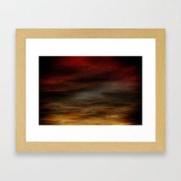 Gloomy Sky 0012 Framed Art Print
