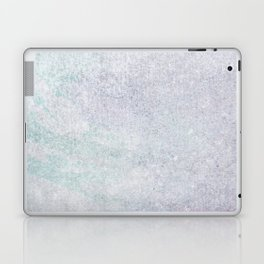Grunge purple lilac green abstract modern texture Laptop & iPad Skin