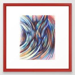 True Weave Framed Art Print