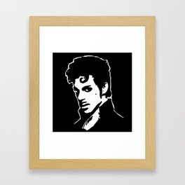 PORTRAIT OF A MUSICAL ICON AND MULTI-INSTRUMENTALIST Framed Art Print