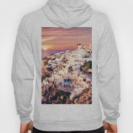 Santorini Sunset View Hoody